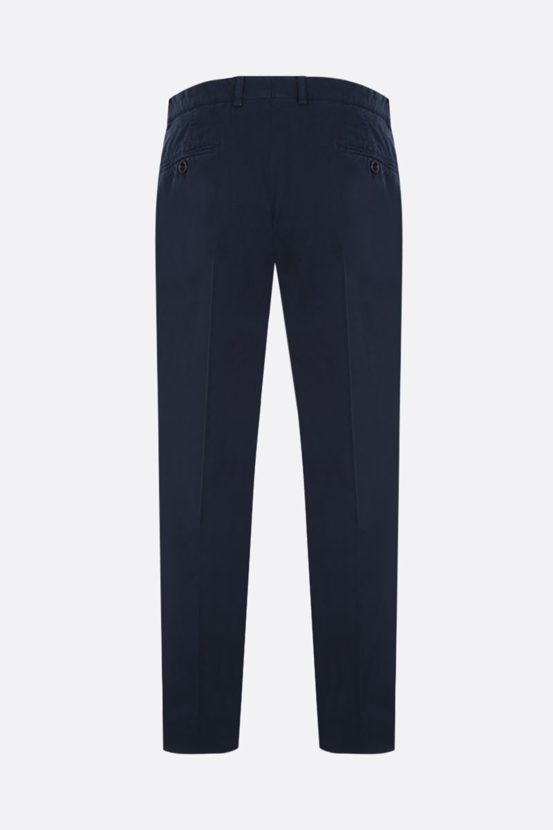 BRUNELLO CUCINELLI: pantalone chino regular-fit in cotone Colore Blu_2