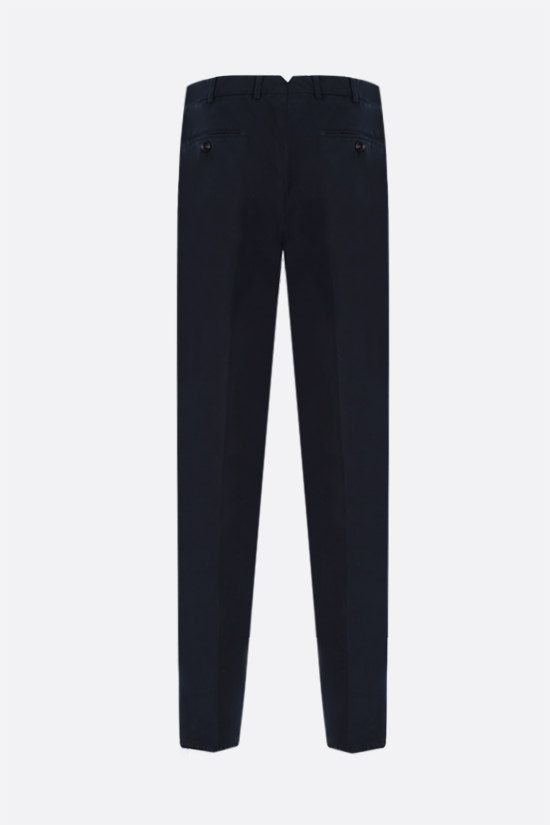BRUNELLO CUCINELLI: chino cotton pants Color Blue_2