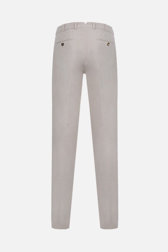 BRUNELLO CUCINELLI: cotton chino pants Color White_2