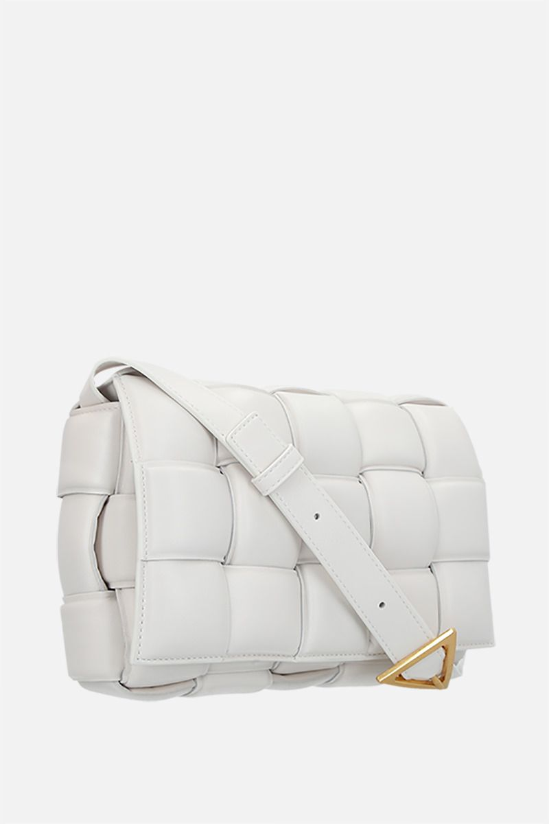 BOTTEGA VENETA: Cassette shoulder bag in padded Intrecciato nappa Color Neutral_2