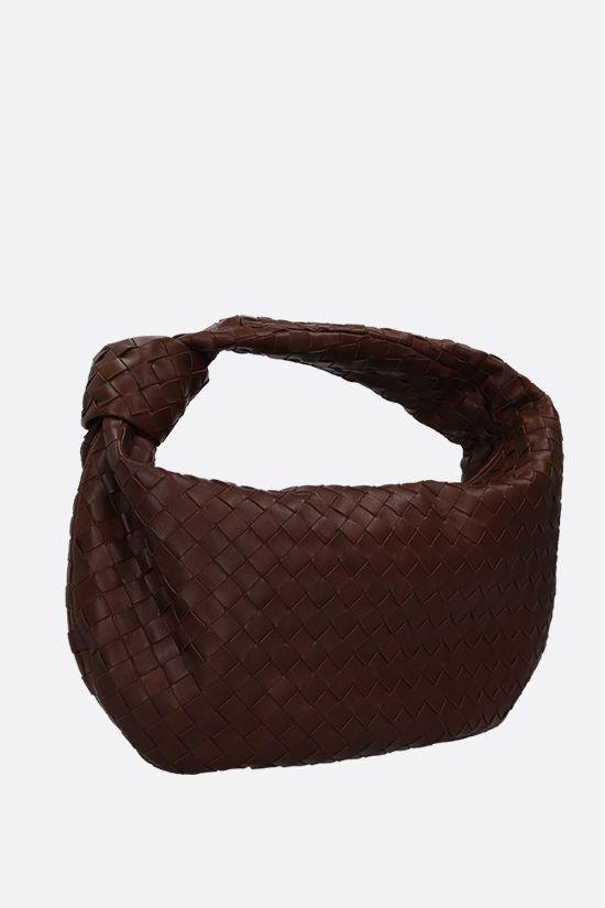 BOTTEGA VENETA: BV Jodie medium shoulder bag in Intrecciato nappa Color Brown_2