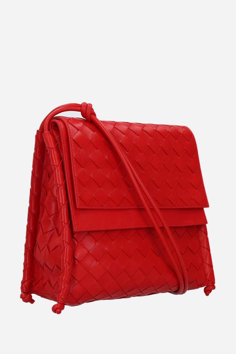 BOTTEGA VENETA: BV Fold small crossbody bag in Intrecciato nappa_2