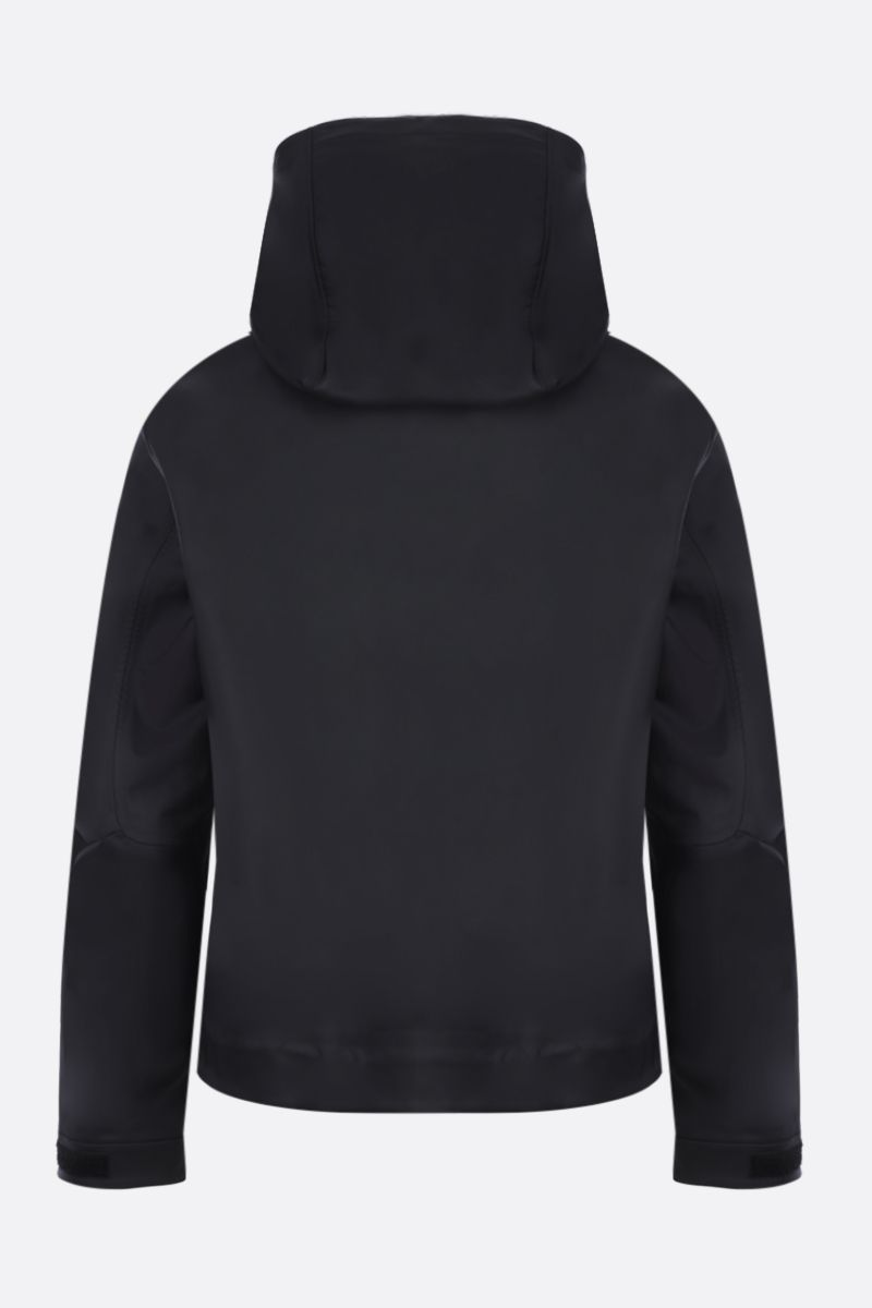 BOTTEGA VENETA: tech nylon full-zip jacket Color Black_2