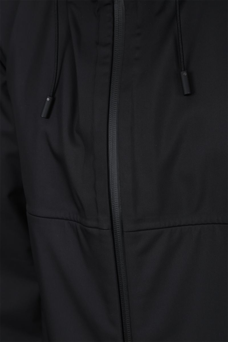 BOTTEGA VENETA: tech nylon full-zip jacket Color Black_3
