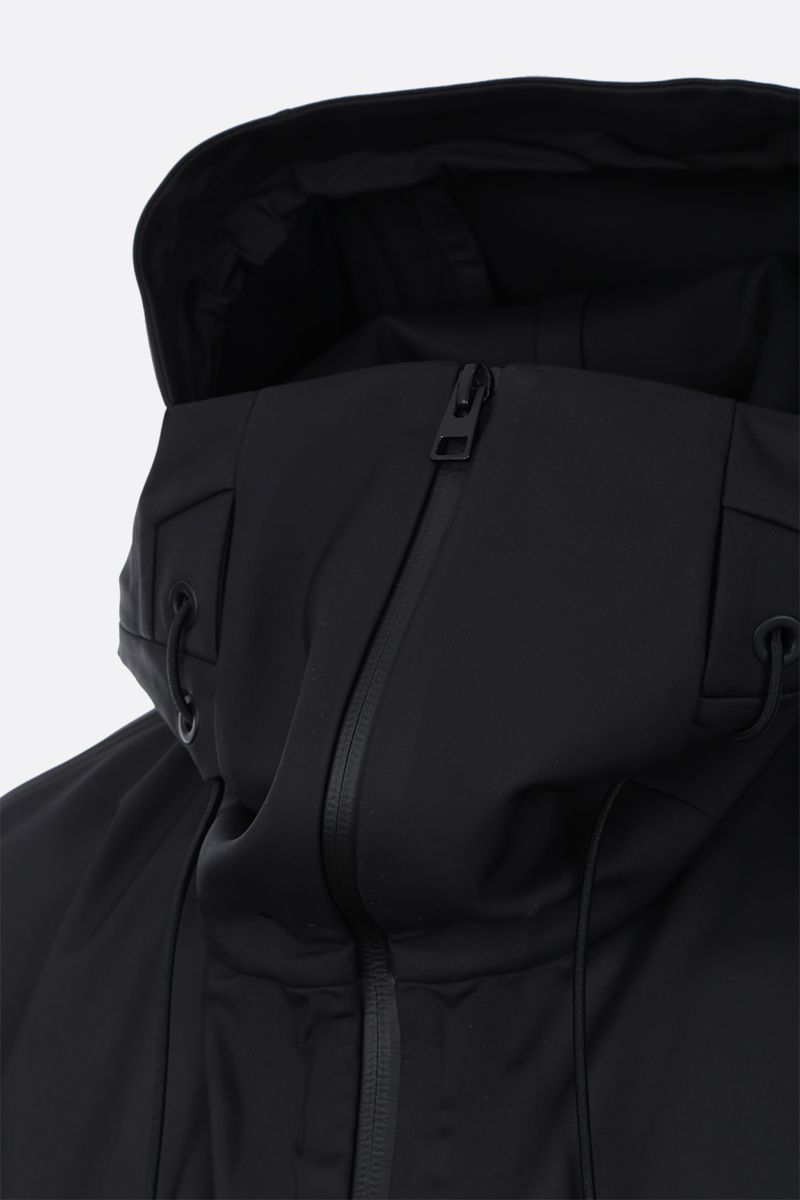 BOTTEGA VENETA: tech nylon full-zip jacket Color Black_4