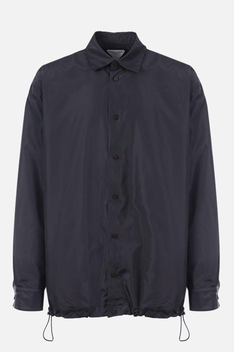 BOTTEGA VENETA: nylon overshirt Color Grey_1