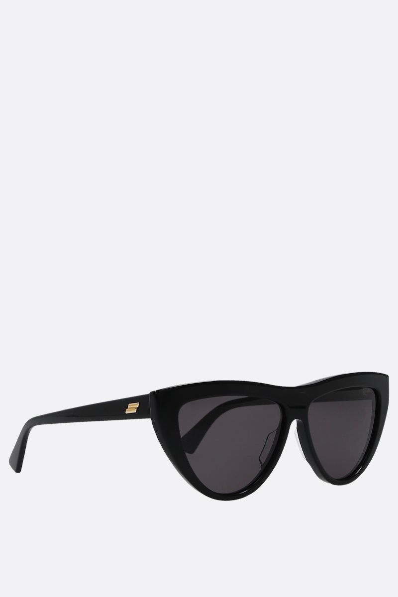 BOTTEGA VENETA: teardrop-frame acetate sunglasses_2