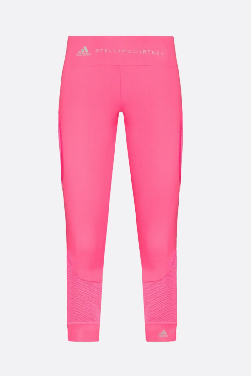 ADIDAS BY STELLA McCARTNEY: Essentials three-quarter tight in technical fabric Color Pink_1