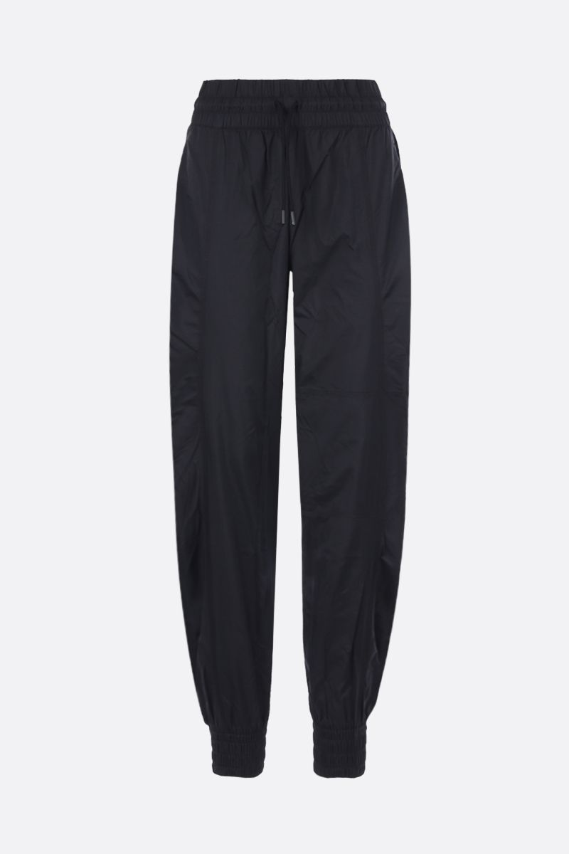 ADIDAS BY STELLA McCARTNEY: Woven nylon joggers Color Black_1