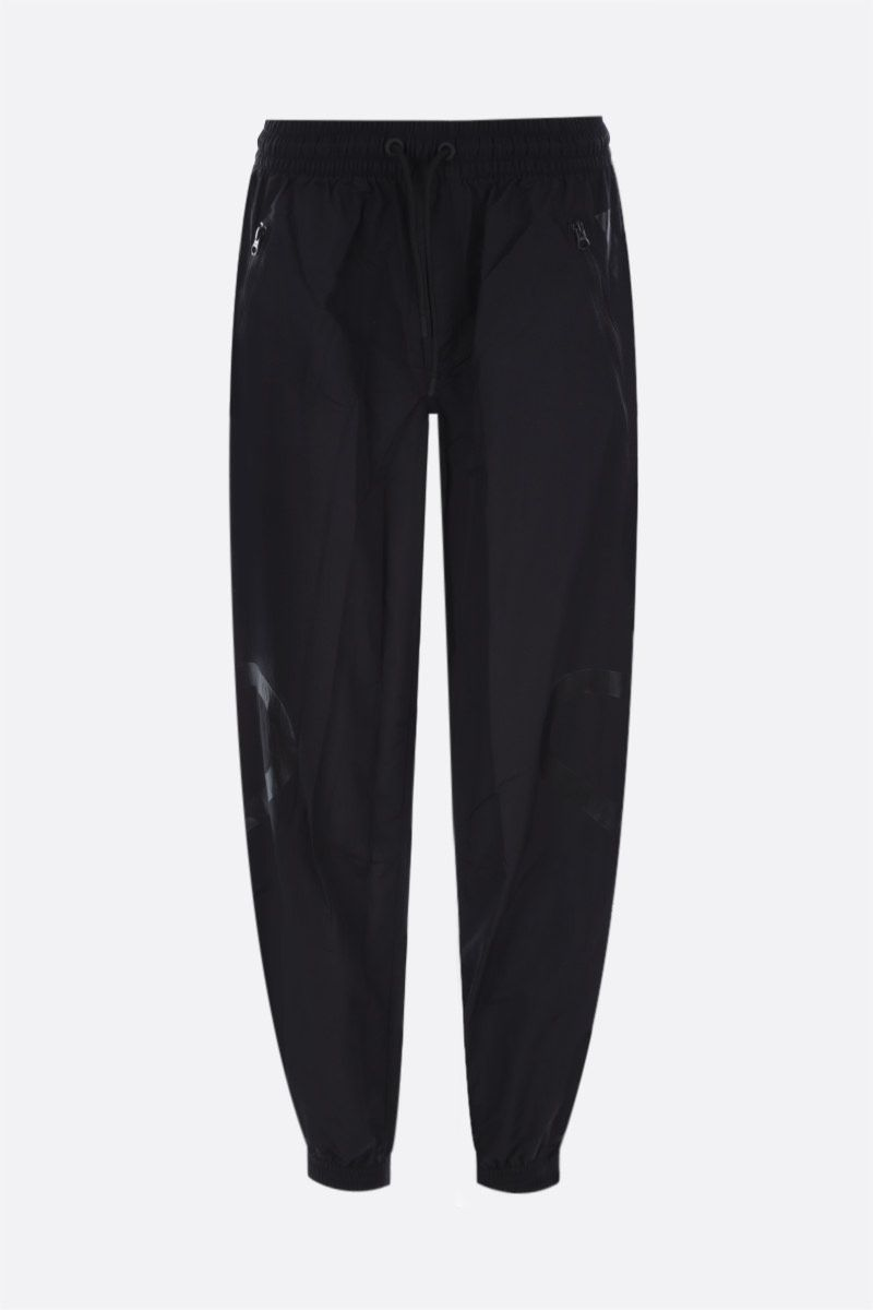 ADIDAS BY STELLA McCARTNEY: recycled nylon joggers Color Black_1