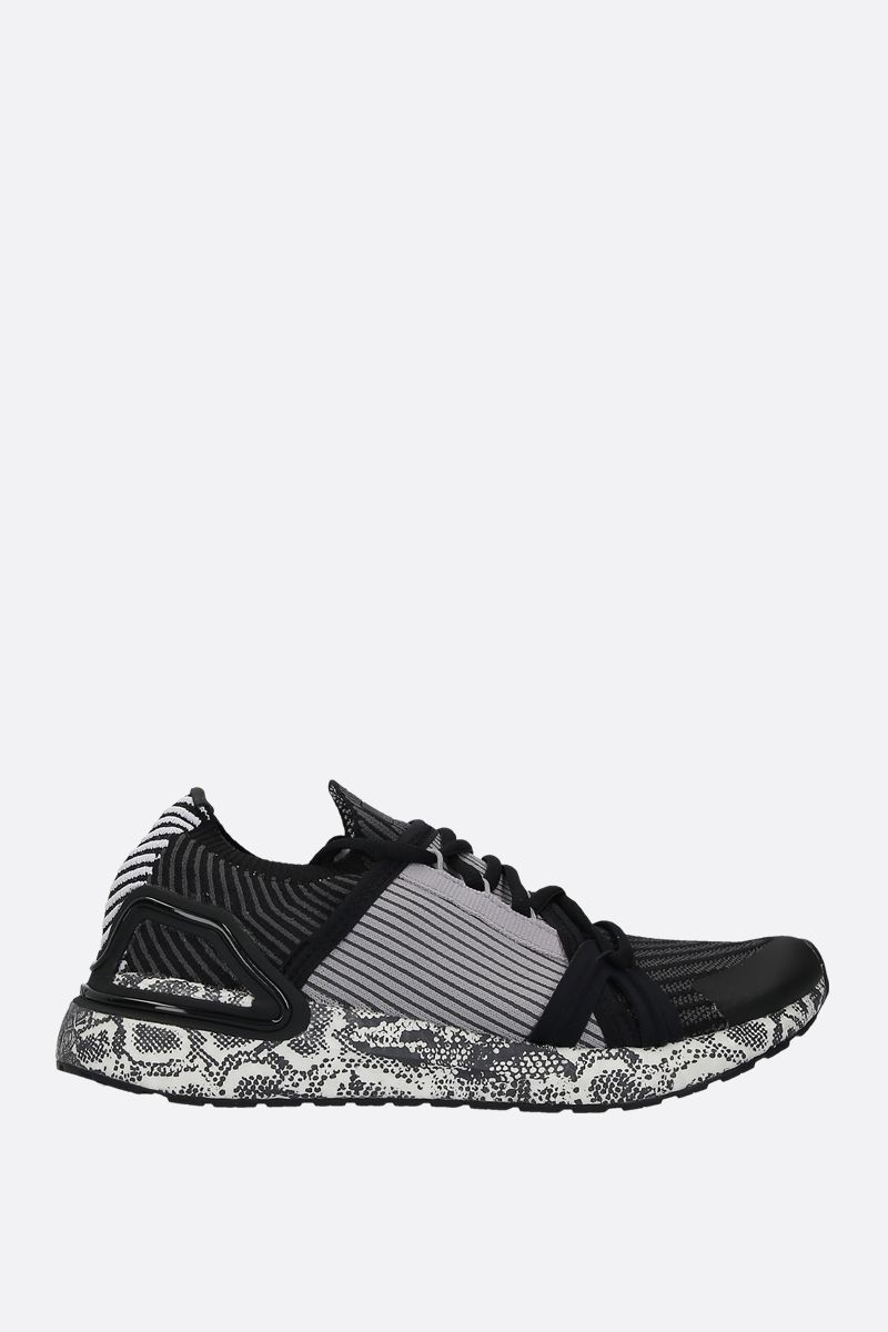 ADIDAS BY STELLA McCARTNEY: UltraBOOST 20.S. sneakers in stretch knit Color Black_1