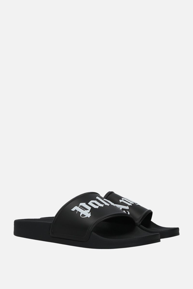 PALM ANGELS: Palm Angels rubber pool slides Color Multicolor_2