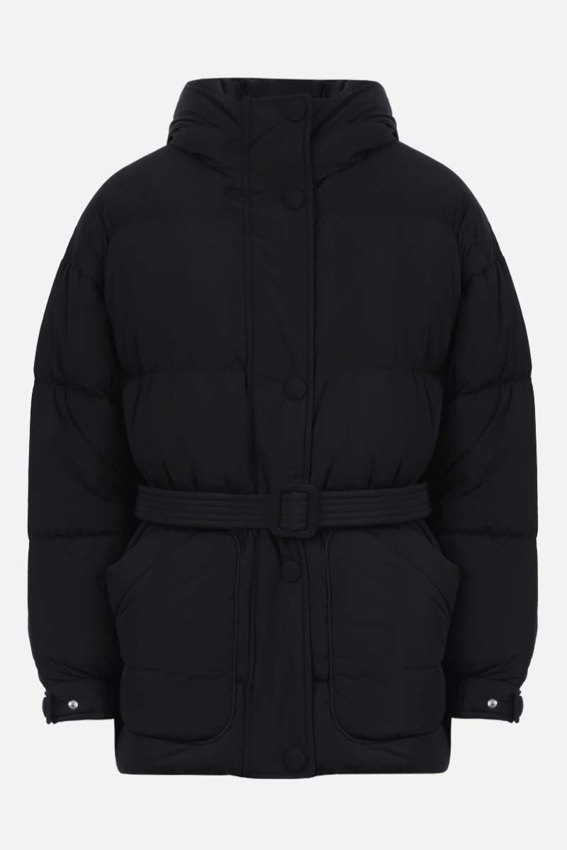 IENKI IENKI: Michlin oversize stretch nylon down jacket Color Black_1