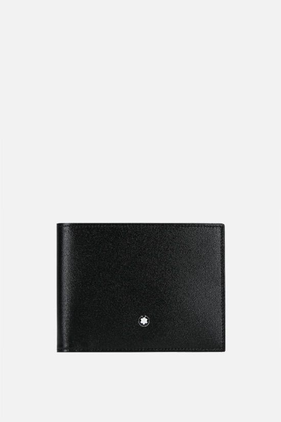 MONTBLANC: Meisterstück smooth leather wallet Color Black_1