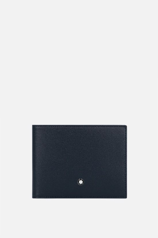 MONTBLANC: Meisterstück smooth leather wallet Color Blue_1
