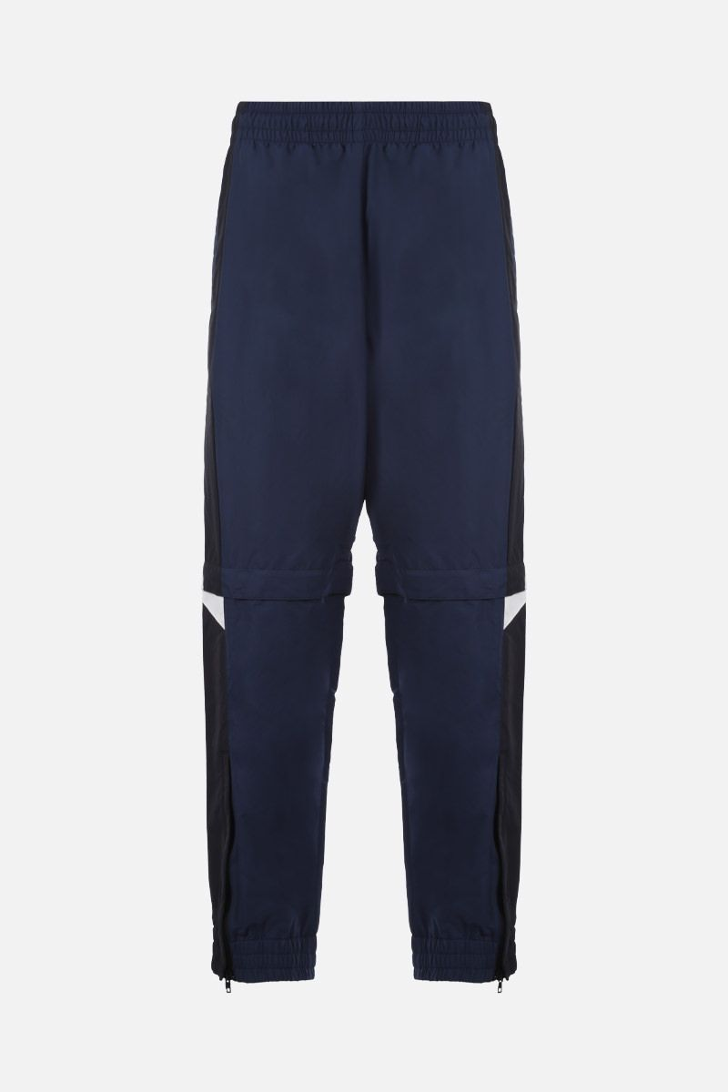 VETEMENTS: pantalone jogging in nylon color-block Colore Multicolore_1