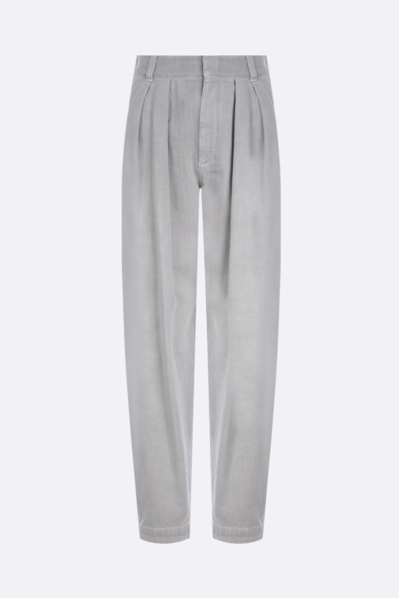 BRUNELLO CUCINELLI: slouchy-fit jeans Color Grey_1