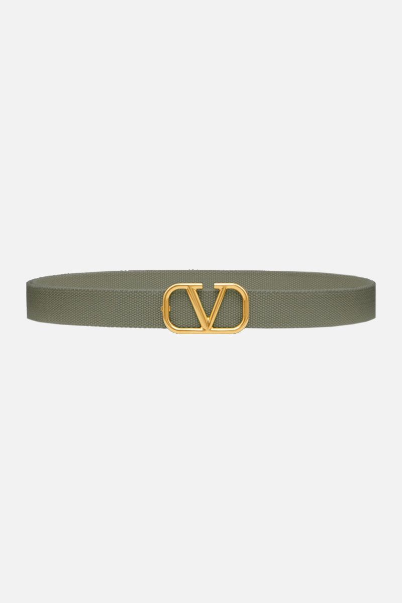 VALENTINO GARAVANI: VLOGO tape Belt Color Green_1