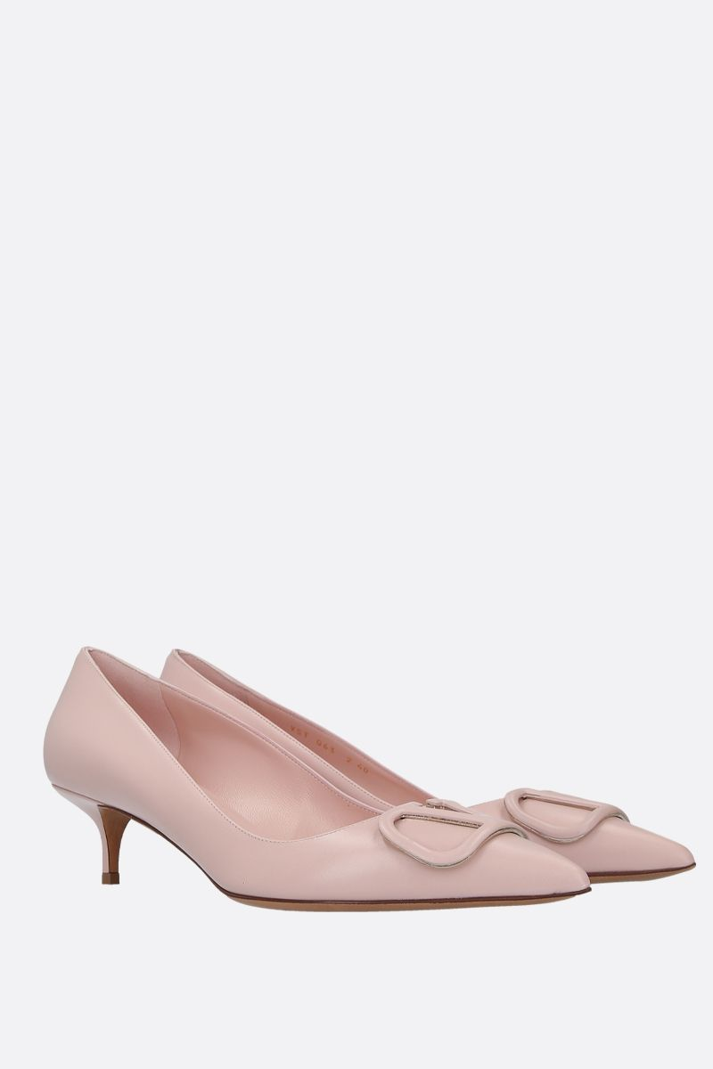 VALENTINO GARAVANI: VLOGO pumps in smooth leather_2