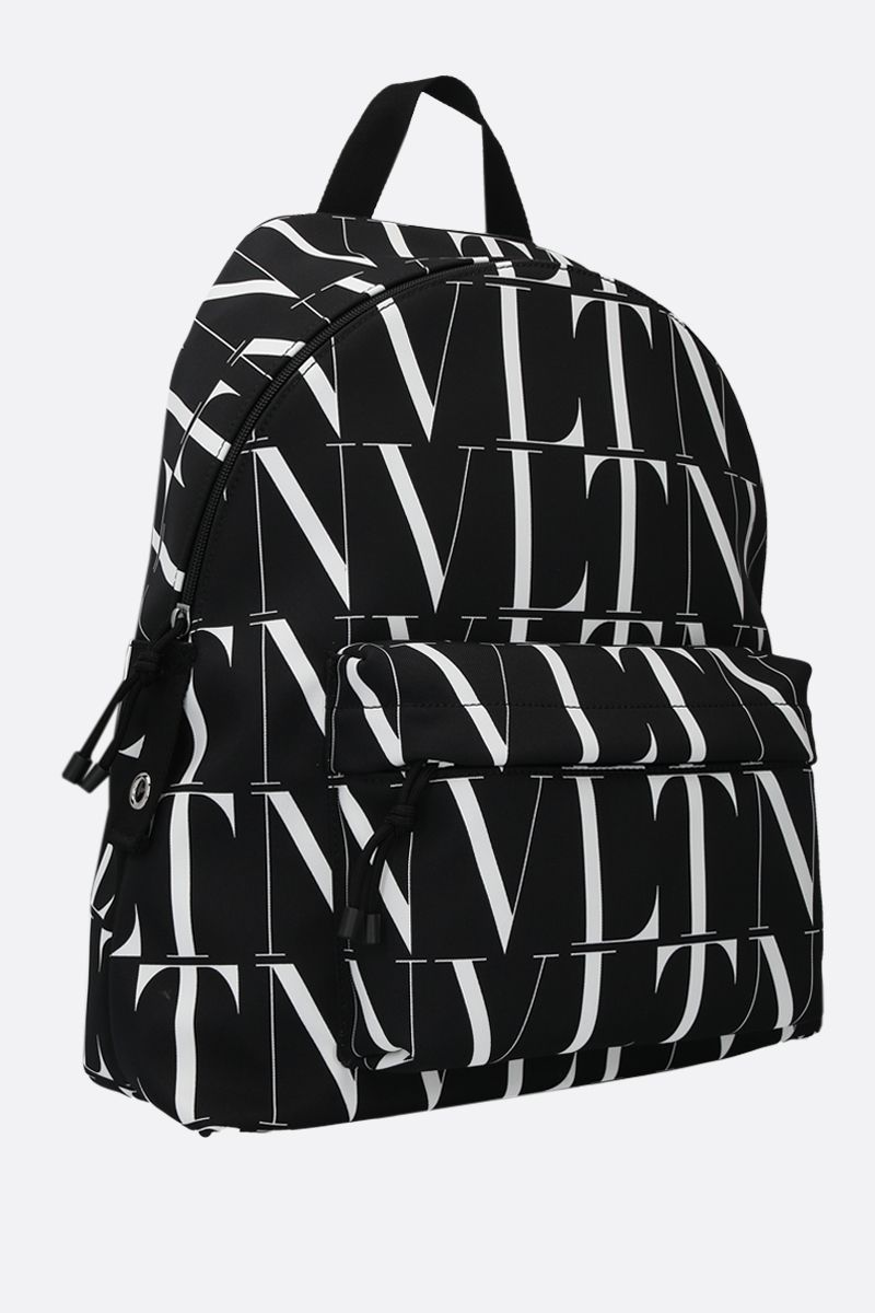 VALENTINO GARAVANI: VLTN TIMES nylon backpack Color Black_2