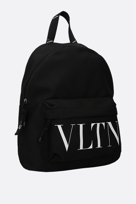 VALENTINO GARAVANI: VLTN nylon backpack Color Black_2