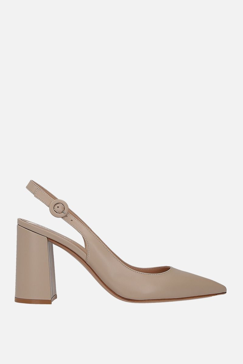 GIANVITO ROSSI: Agata slingbacks in smooth leather_1