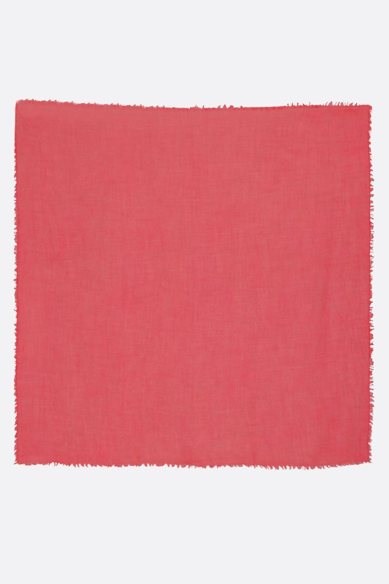 FALIERO SARTI: New Lolita stole in cashmere silk blend Color Red_2