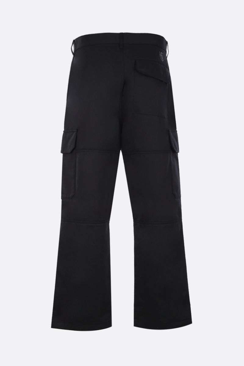 Eye/LOEWE/Nature: pantalone cargo Eye/Loewe/Nature in cotone Colore Nero_3