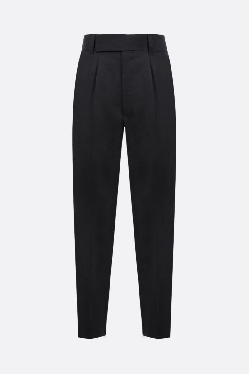 FEAR OF GOD for Ermenegildo Zegna: FEAROFGODZEGNA wool darted pants Color Grey_1