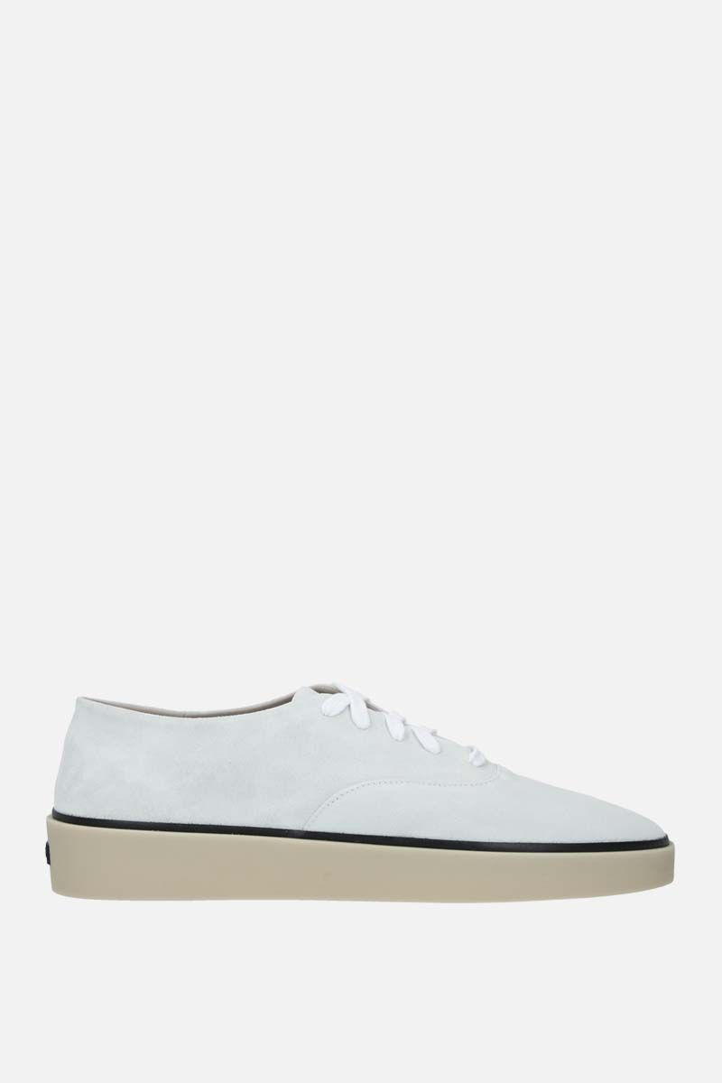 FEAR OF GOD for Ermenegildo Zegna: FEAROFGODZEGNA suede sneakers Color White_1