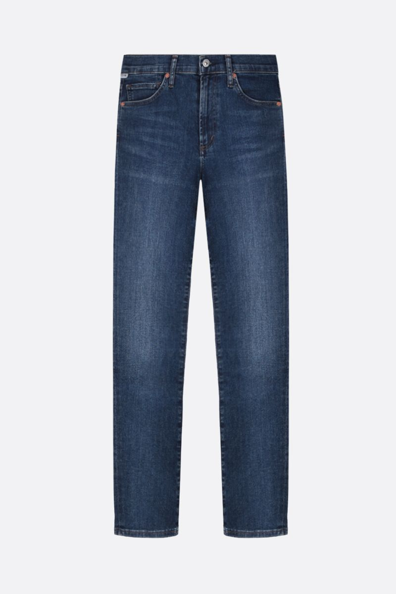 CITIZENS OF HUMANITY: Skyla slim-fit jeans Color Blue_1