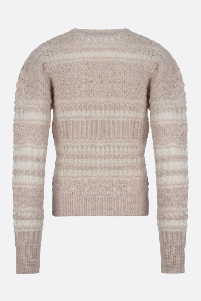 ISABEL MARANT ETOILE: Pippa wool blend pullover Color Neutral_1