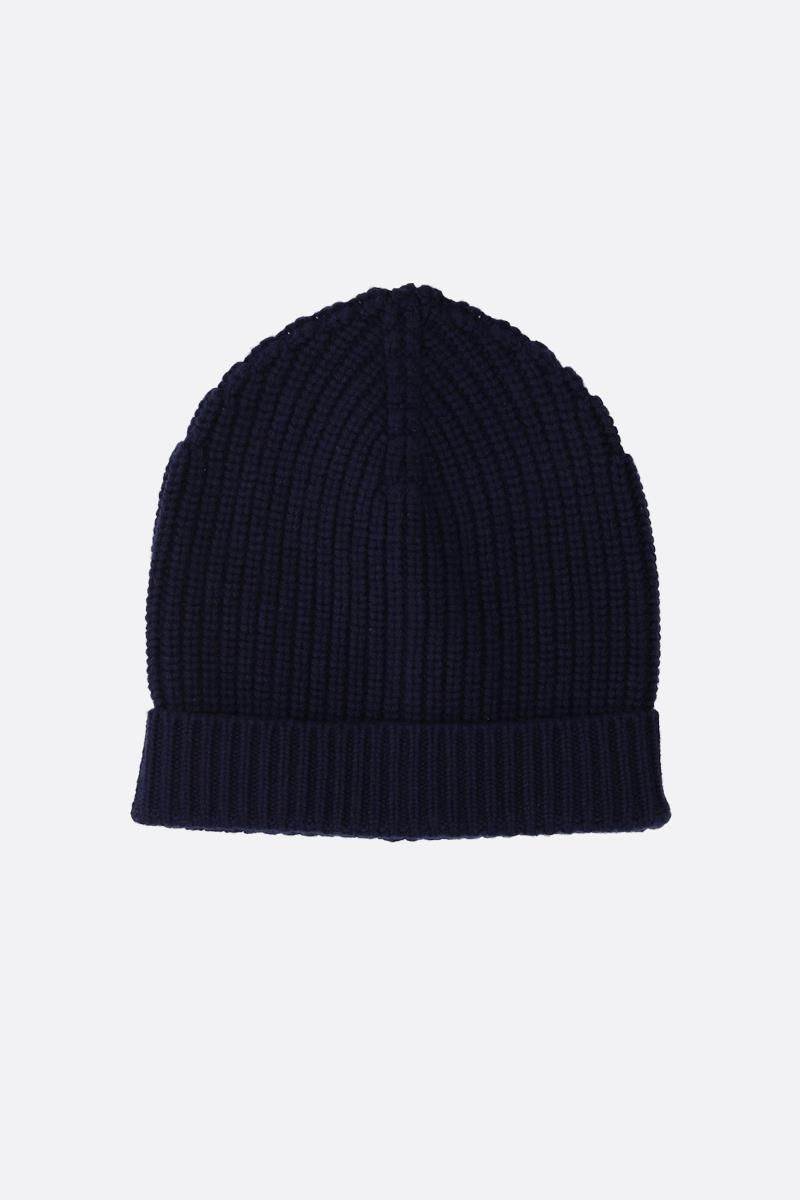 DOLCE & GABBANA: cashmere knit beanie Color Blue_1