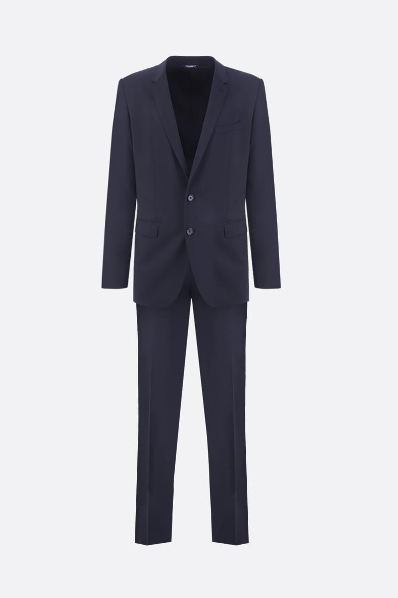 DOLCE & GABBANA: Martini two pieces suit in lightweight wool Color Black_1