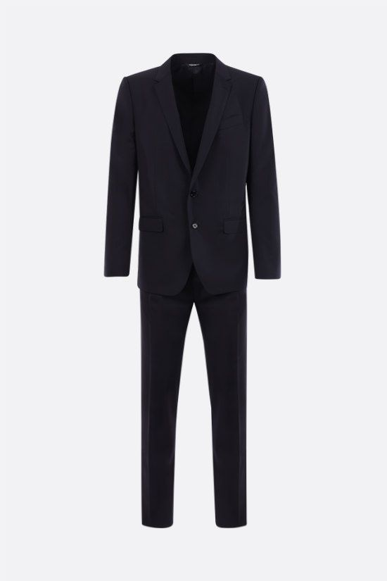 DOLCE & GABBANA: Martini stretch wool two-pieces suit Color Blue_1