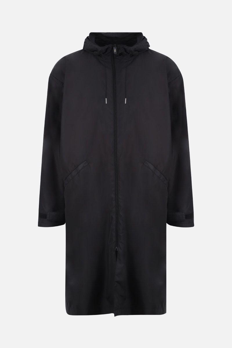 GOLDEN GOOSE DELUXE BRAND: Landon nylon parka Color Black_1