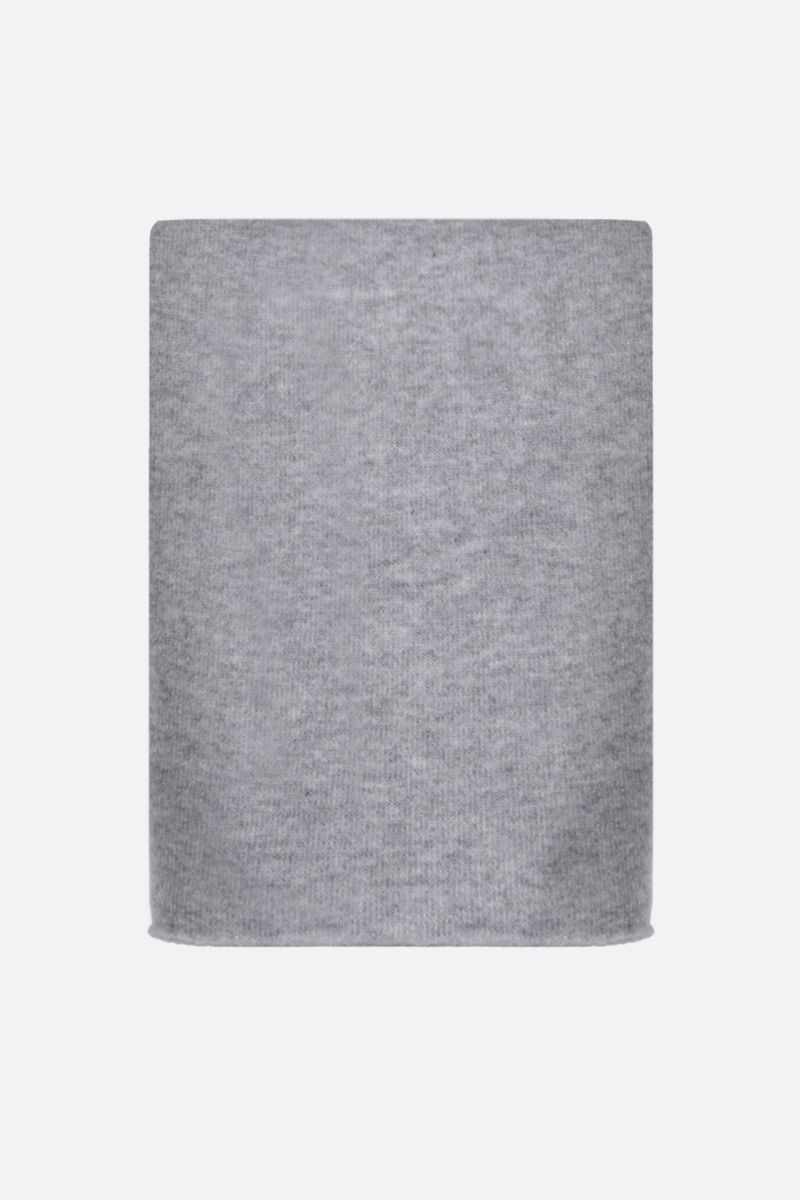 ROBERTO COLLINA: pure cashmere scarf Color Grey_1