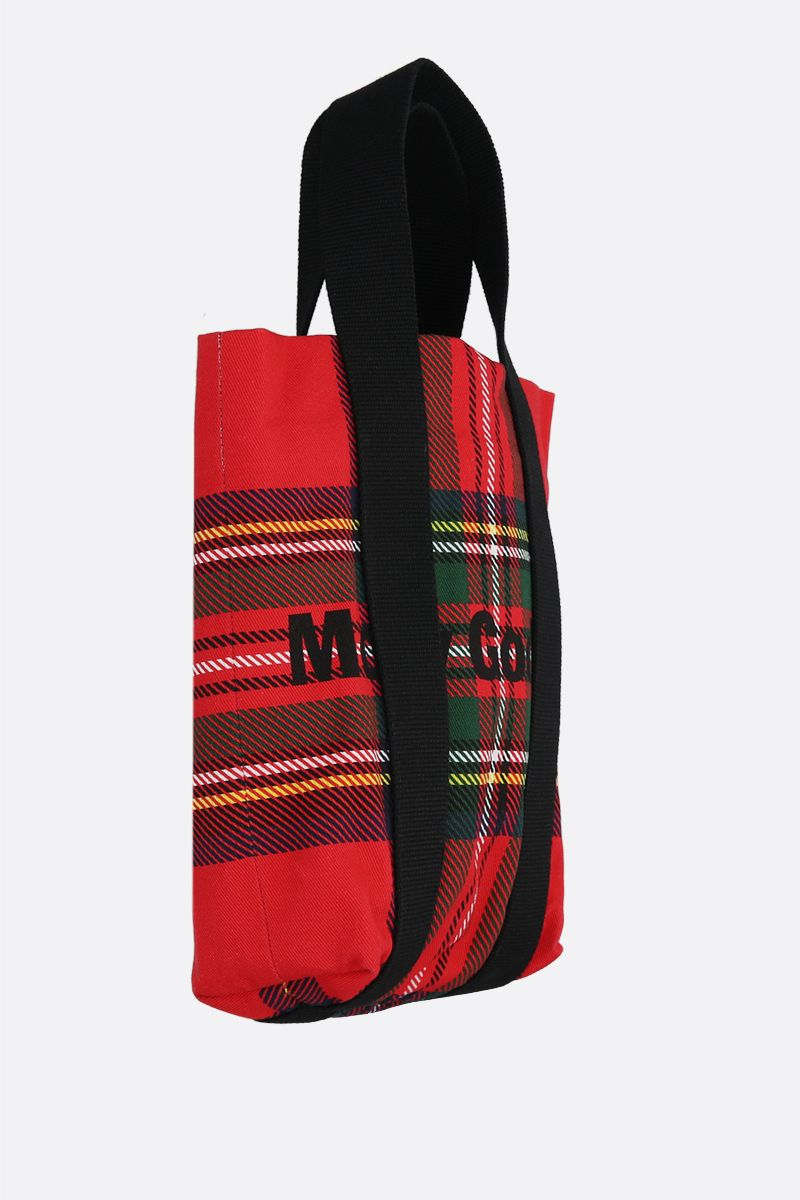 MOLLY GODDARD: Lewis canvas tote bag Color Red_2