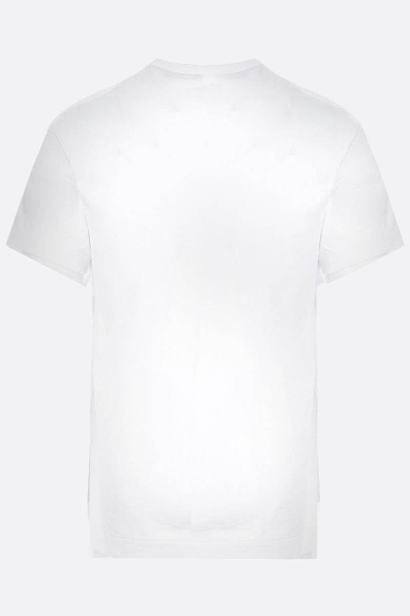 COMME des GARCONS HOMME PLUS: t-shirt in cotone stampa grafica Colore White_2