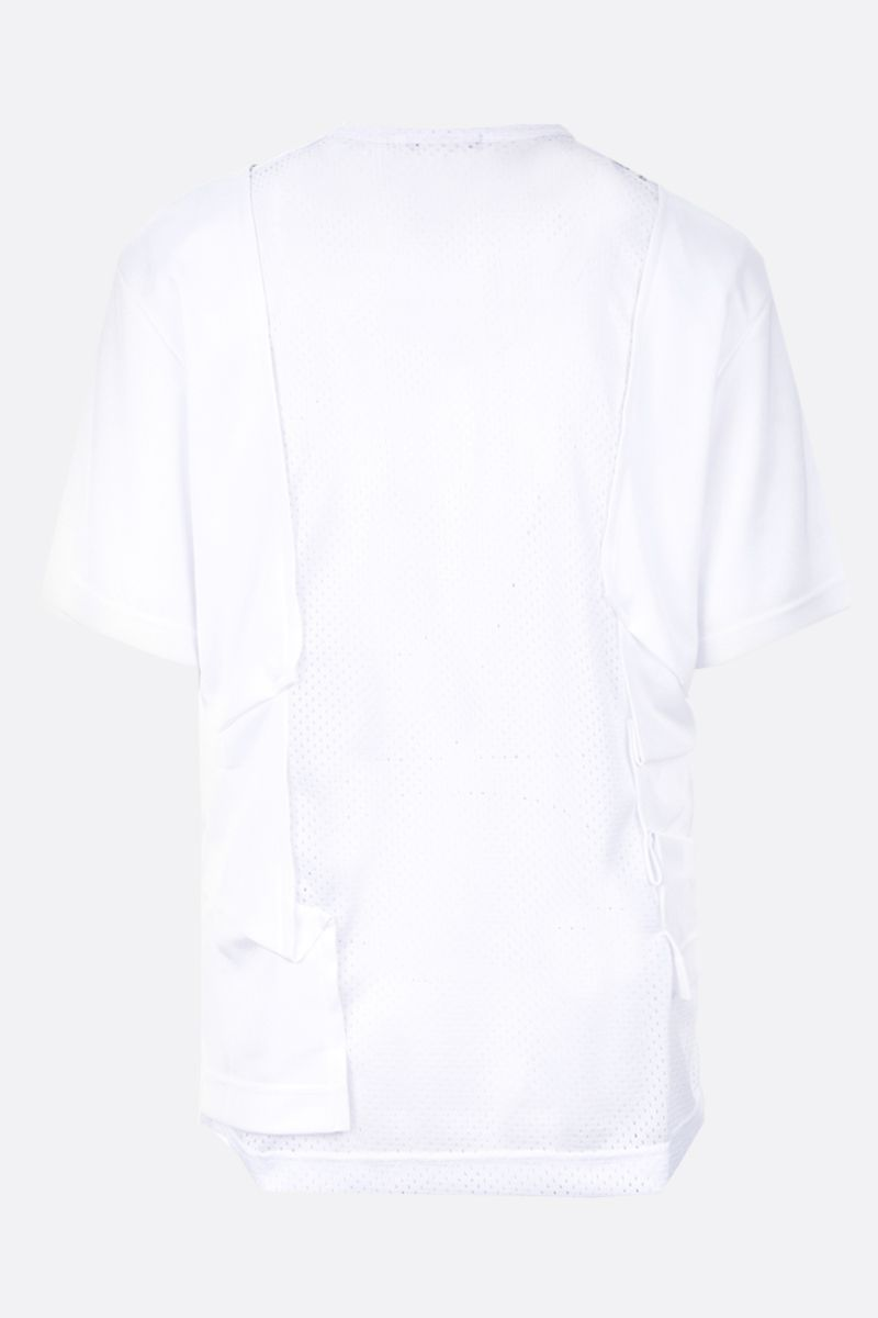 COMME des GARCONS HOMME PLUS: t-shirt in jersey stampa grafica Colore White_2