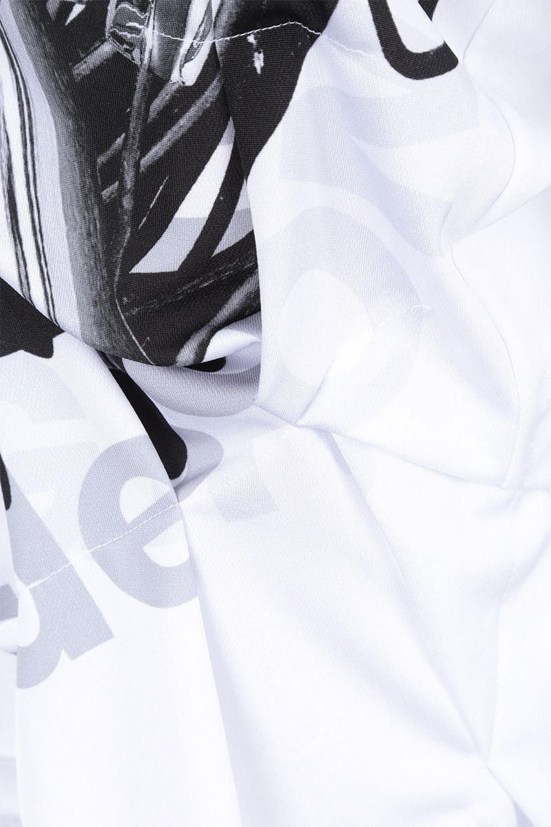 COMME des GARCONS HOMME PLUS: t-shirt in jersey stampa grafica Colore White_3