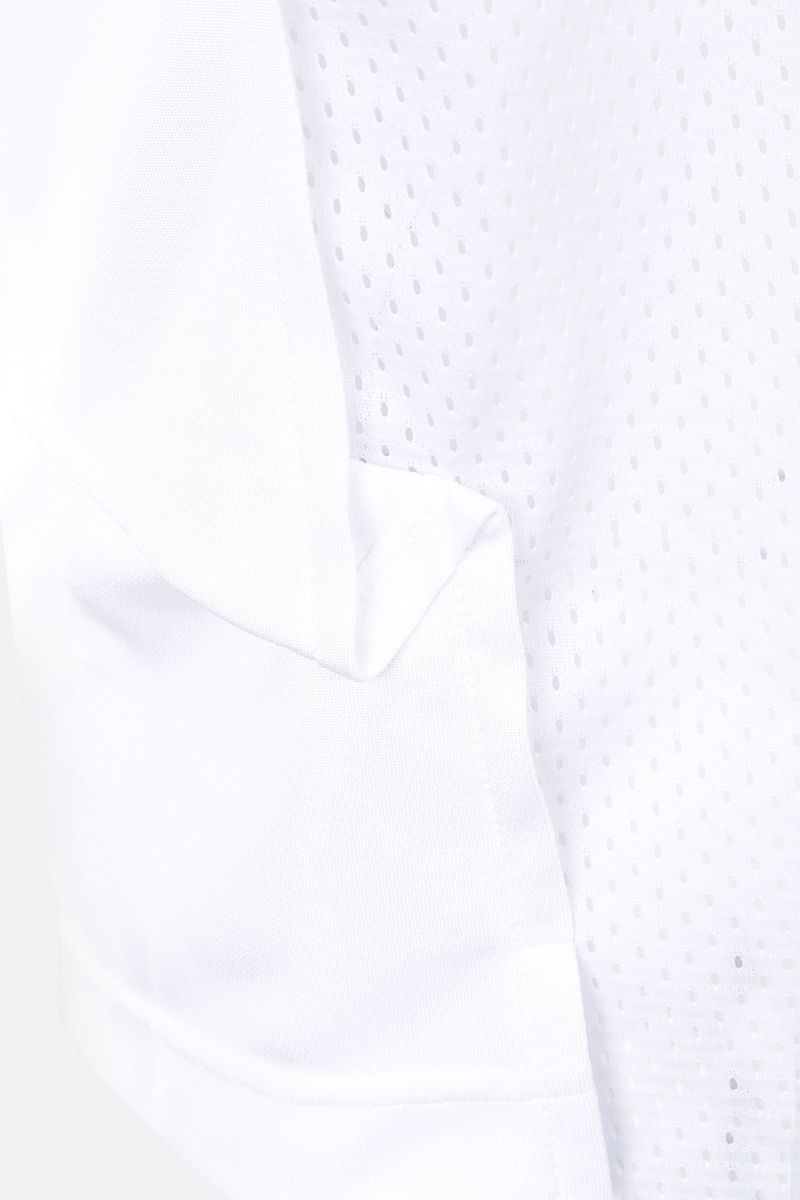 COMME des GARCONS HOMME PLUS: t-shirt in jersey stampa grafica Colore White_4
