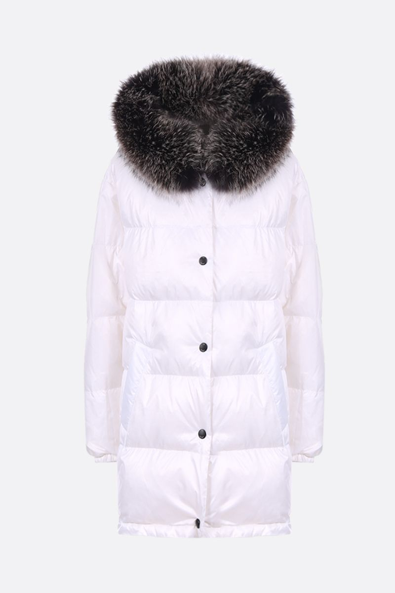 ARMY BY YVES SALOMON: double down jacket in nylon Color Black_2