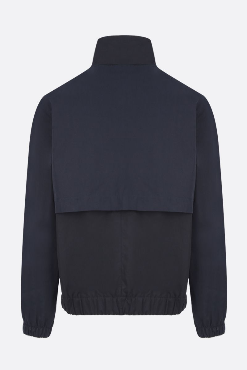 MAISON KITSUNÈ: technical cotton windbreaker_2