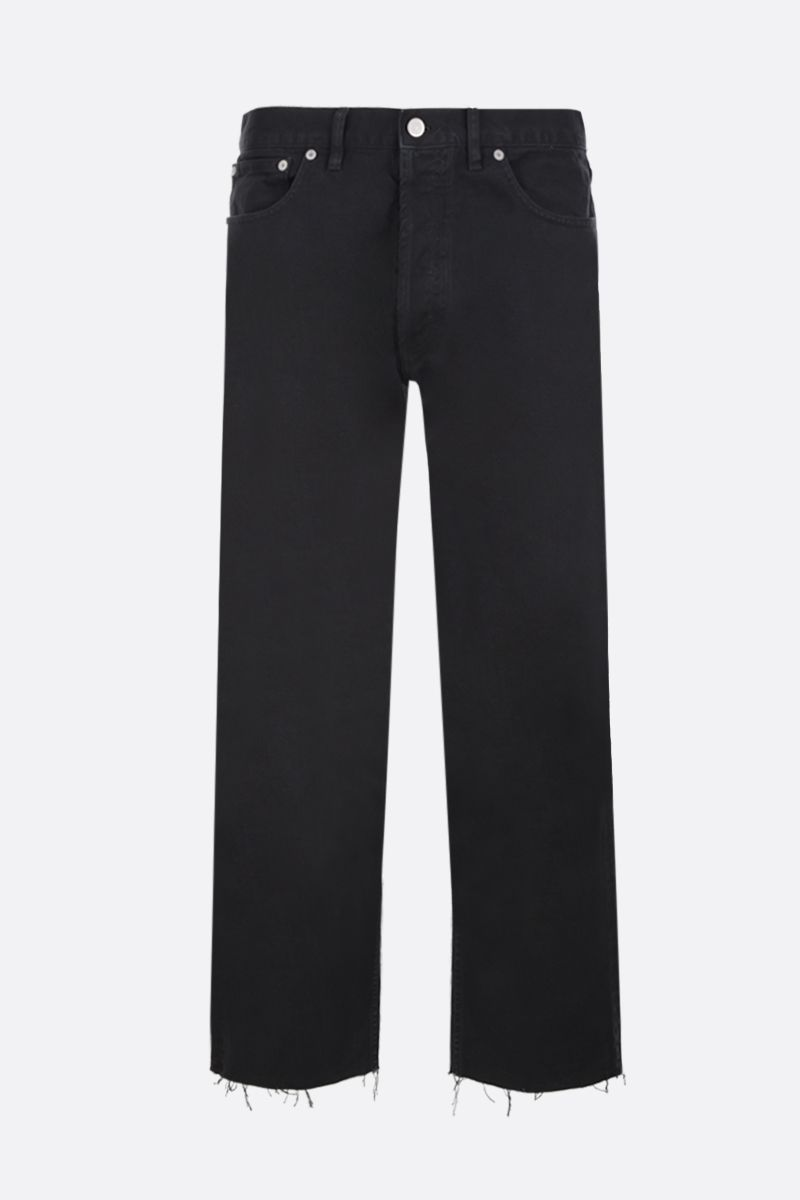 MAISON MARGIELA: cropped jeans Color Black_1