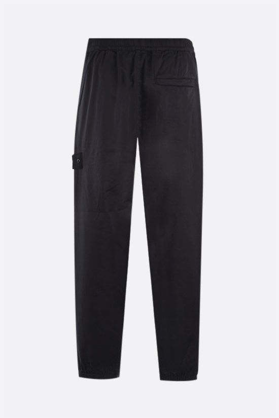 STONE ISLAND: Ghost Piece wool cotton blend joggers Color Black_2