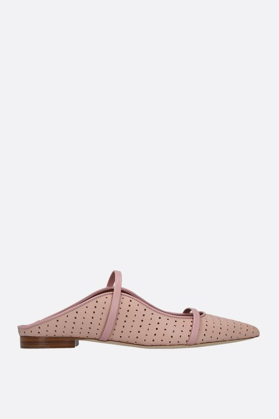 MALONE SOULIERS: slipper Maureen in pelle laserata Colore Rosa_1