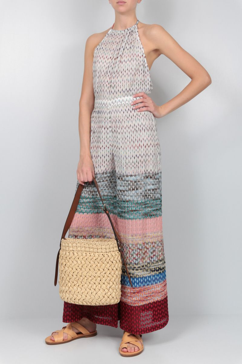 MISSONI: lurex lightweight jumpsuit Color Multicolor_2