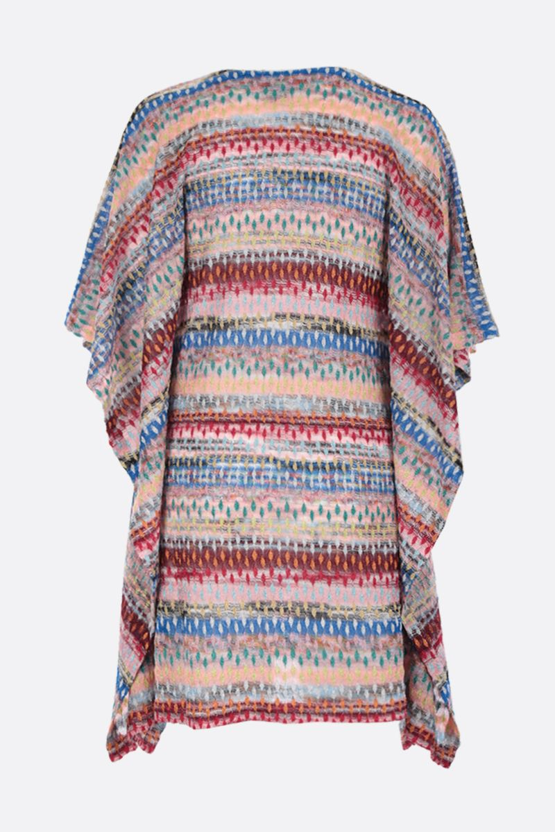 MISSONI: lightweight lurex knit caftan Color Multicolor_2
