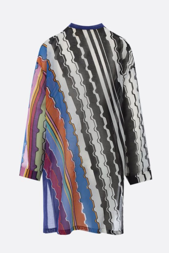 MISSONI: cotton voile beach robe Color Multicolor_2